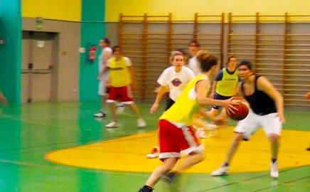 Basket-ball à Paris avec l'APSAP-VP