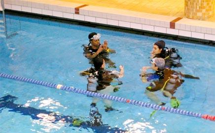 Cours de plongée à paris